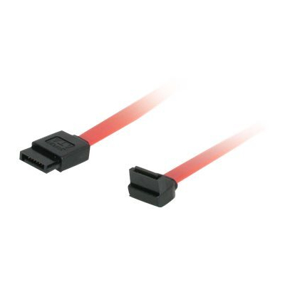 C2G 180 Degree to 90 Degree Right Angle Serial ATA (SATA) Cable