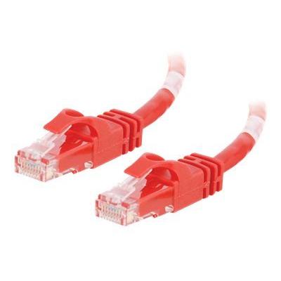 Cbl/2M Red CAT6 PVC Snagless UTP Patch