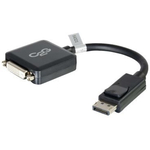 C2G DisplayPort Male to Single Link DVI-D Female Adapter Converter