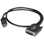 C2G DisplayPort Male to Single Link DVI-D Male Adapter Cable